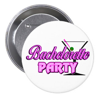 Bachelorette Party Gift 7.5 Cm Round Badge