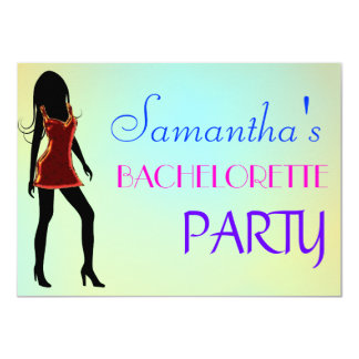 Bachelorette Party / Hens Night Invitation