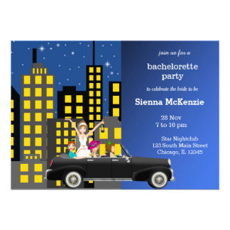 Bachelorette party cards