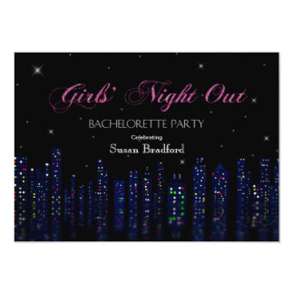 Bachelorette Party Invitation - Girl's Night Out