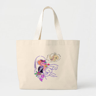 Bachelorette Party Large Tote Bag