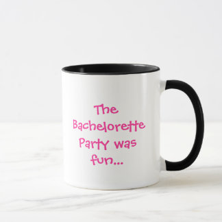 Bachelorette Party Mug
