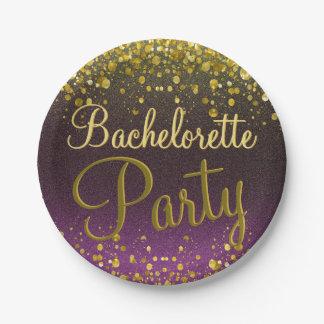 Bachelorette Party Paper Plate