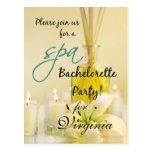 Bachelorette Party Spa Invite - Personalised