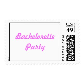 Bachelorette Party Stamp
