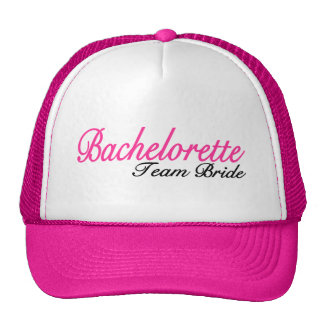 Bachelorette Party Team Bride Trucker Hats