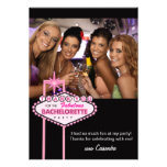 Bachelorette Party Thank You Card Photo - Vegas Personalized Invitation