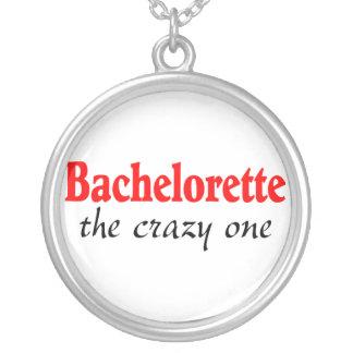 Bachelorette The Crazy One Round Pendant Necklace