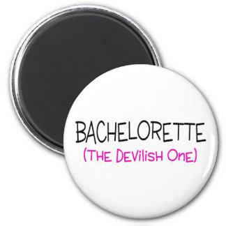 Bachelorette The Devilish One 6 Cm Round Magnet