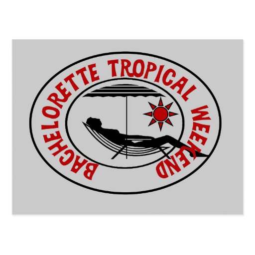 Bachelorette Tropical Weekend Tshirts and Gifts Post Card