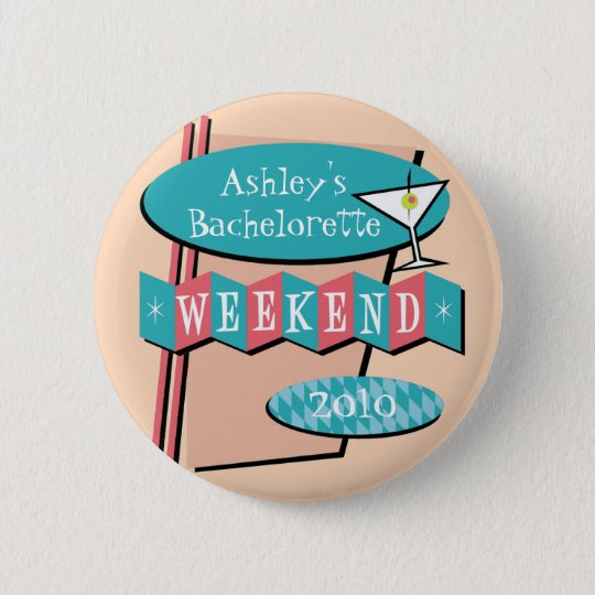 Bachelorette Weekend button
