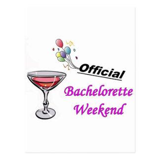 Bachelorette Weekend Full Postcard