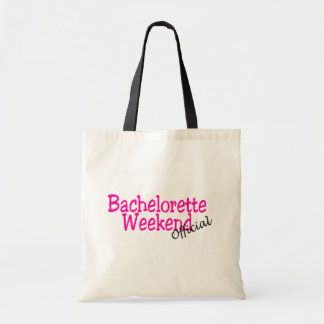 Bachelorette Weekend (Official/Pink) Canvas Bags