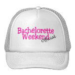 Bachelorette Weekend (Official/Pink) Mesh Hat