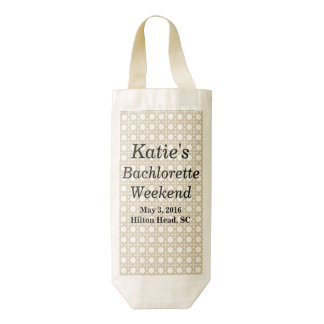 Bachlorette Party Wine Tote