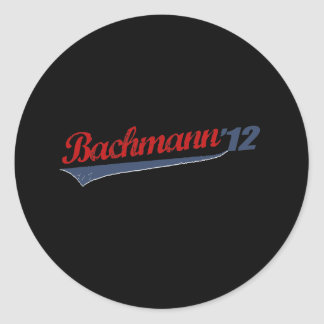 BACHMANN '12 LOGO1 STICKERS