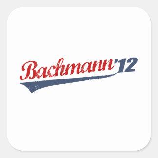 BACHMANN '12 LOGO SQUARE STICKER