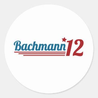 Bachmann 12 round sticker