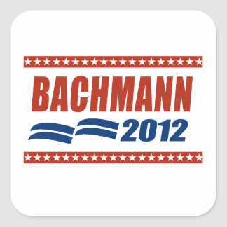 BACHMANN 2012 BANNER SQUARE STICKERS
