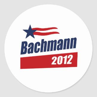 BACHMANN 2012 BANNER- STICKER