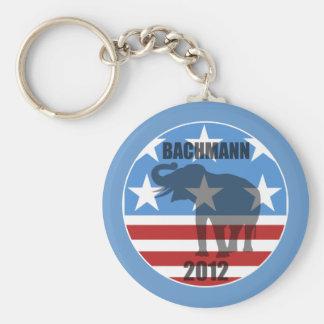 Bachmann 2012 basic round button key ring