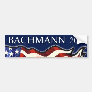 Bachmann 2012 car bumper sticker
