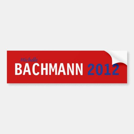 Bachmann 2012 Bumper Sticker