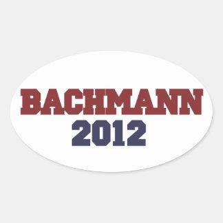 Bachmann 2012 oval sticker