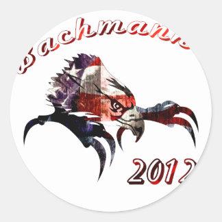 Bachmann 2012 round stickers