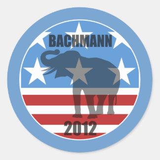 Bachmann 2012 stickers