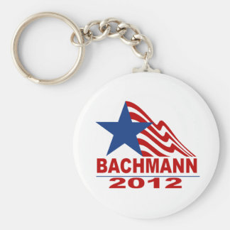 Bachmann for President 2012 Basic Round Button Key Ring