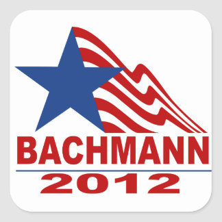 Bachmann for President 2012 Square Sticker