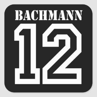 BACHMANN IN 12 (white) Stickers