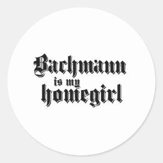 BACHMANN IS MY HOMEGIRL STICKERS