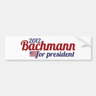 bachmann president 2012 bumper sticker