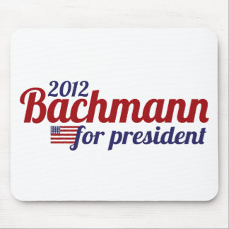bachmann president 2012 mouse pads