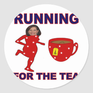 Bachmann Running for the Tea 1 Stickers