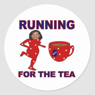 Bachmann Running for the Tea 2012 Stickers
