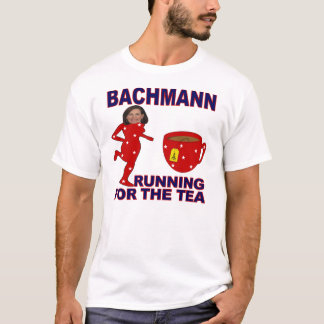 Bachmann Running for the Tea Don't Tread T-Shirt