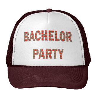 BACHOLER PARTY Engagement Wedding Honeymoon Trucker Hats