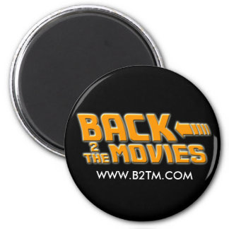 Back2theMovies fridge magnet