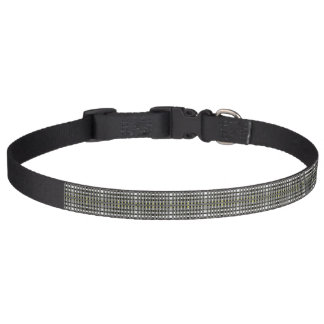 Back and white dog collar - Strips 3G