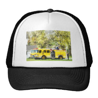 Back at the Firehouse Trucker Hat