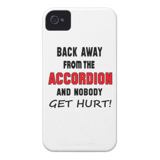 Back away from the accordion and nobody get hurt! iPhone 4 covers