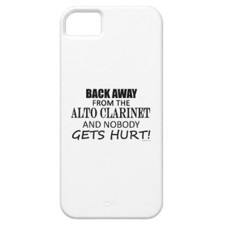Back Away From The Alto Clarinet iPhone 5 Cover