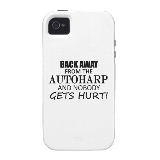 Back Away From The Autoharp Case-Mate iPhone 4 Case