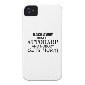 Back Away From The Autoharp iPhone 4 Cases
