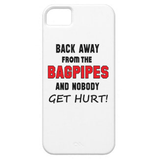 Back away from the Bagpipes and nobody get hurt! iPhone 5 Covers