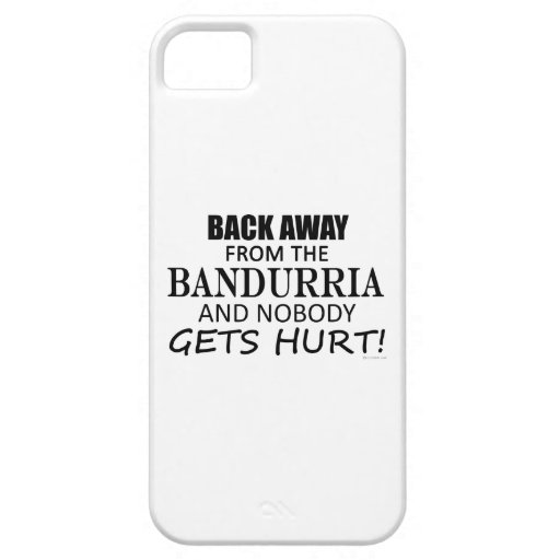 Back Away From The Bandurria iPhone 5 Covers