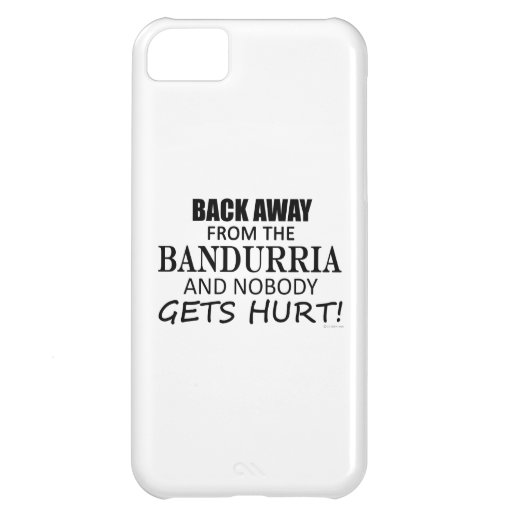Back Away From The Bandurria iPhone 5C Covers